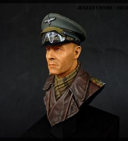 Erwin Rommel - Life miniatures 1/10th Scale Bust
