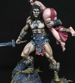 Barbarian and the slave girl