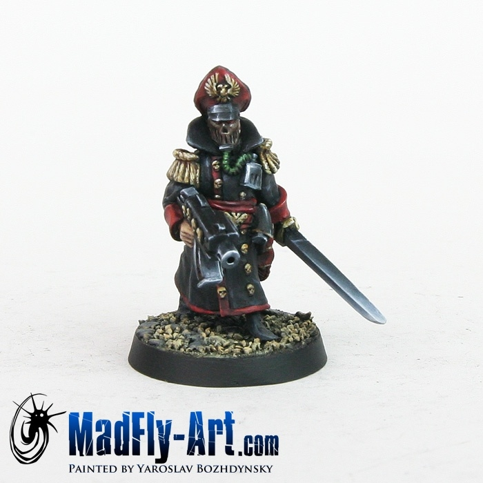 Steel Legion Commissar