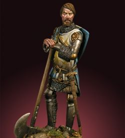 EUROPEAN KNIGHT 1340 54mm CRECY MODELS