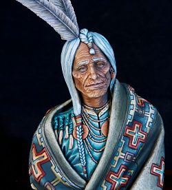 Navajo Great Chief (Blackcrow Miniatures)