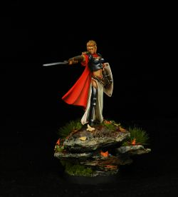 28mm female warrior