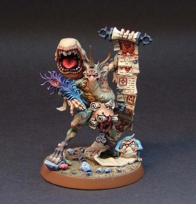 Painted Spoilpox Scrivener