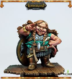 Female dwarf-Traders of kobberland
