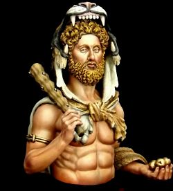 Commodus disguised Hercules Bust