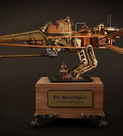 The Steamfighter - A Tribute to Steampunk