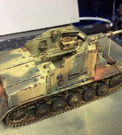 WW2 German MarderII Tank