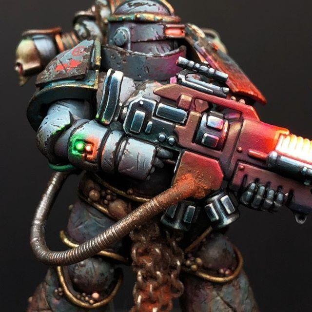 Warhammer 40K Space Marine Command Plasma Guns x 5 P P3 A