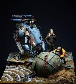 Naval mine. 1/20 (Scratch build)