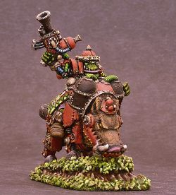 Orc on Armored Boar