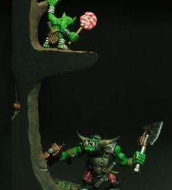 My lollipop ! (Ork vs Gretchin)