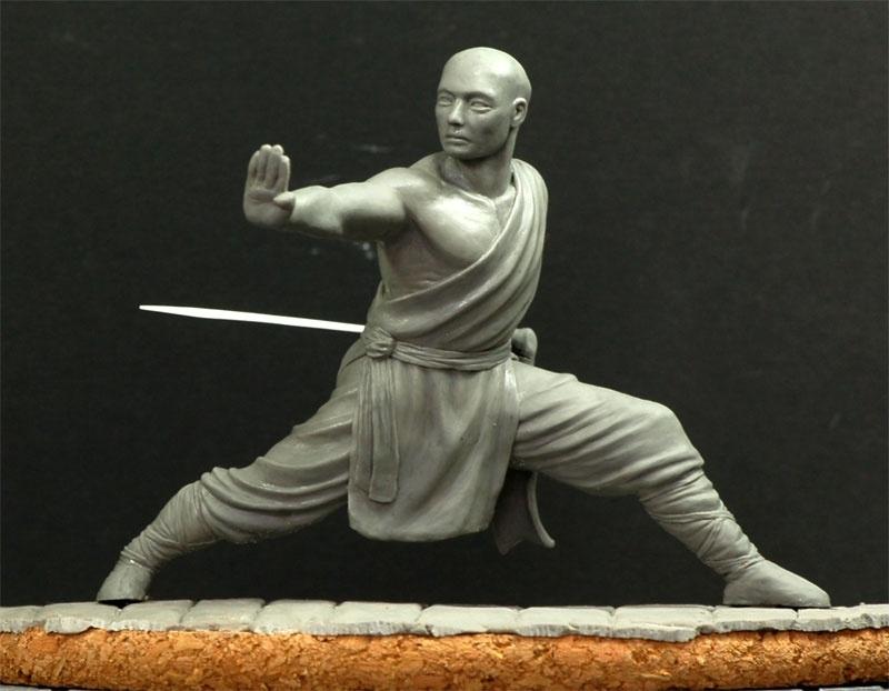 shaolin monk figure
