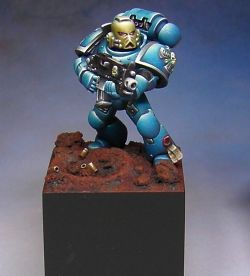Blue Space Marine