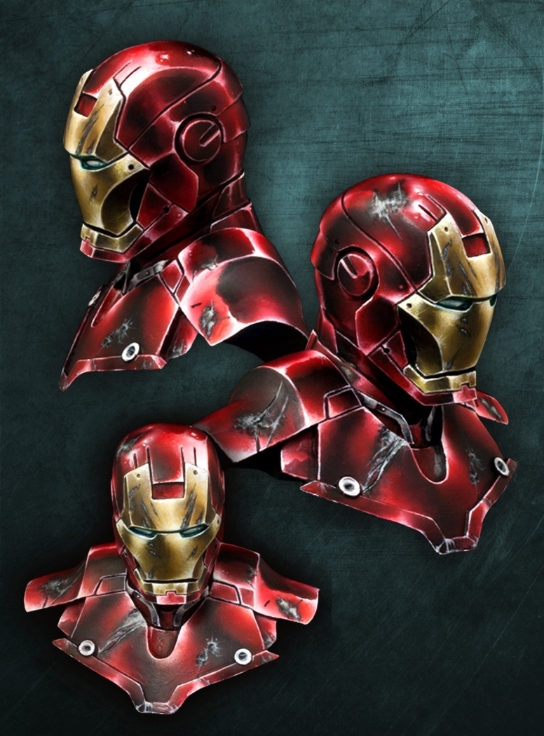 IRON MAN BUST- official artbox