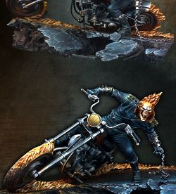 GHOST RIDER- Official artbox