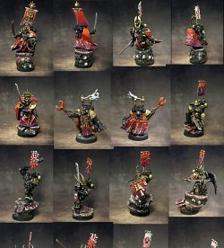SPACE MARINES SAMURAI