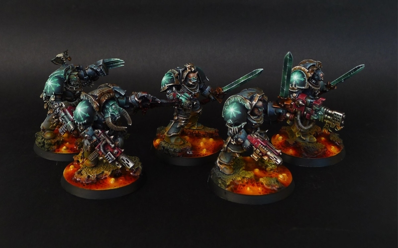 Skyrar's Dark Wolves Terminators