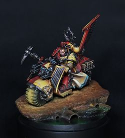 Howling Griffon Captain on Bike