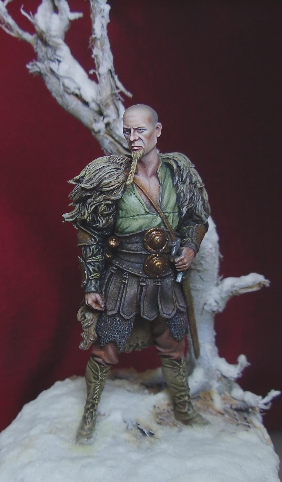 Saxon warrior by davidmitchell putty paint for Saxon warrior tattoos