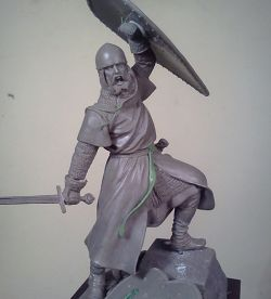 SPANISH KNIGHT Sculpted by Antonio Zapatero, Painted by Luca Olivieri