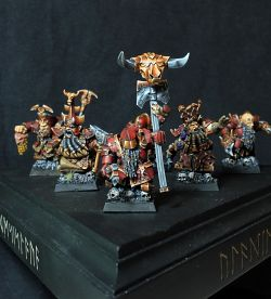 Chaos Dwarves Squad (July 2013)