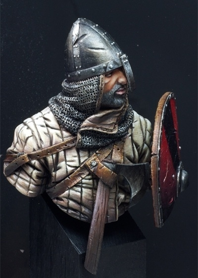 Norman Knight Bust