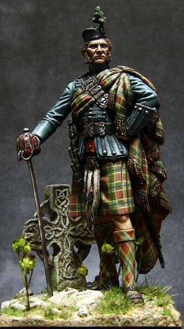 Scottisch Nobleman By Ronald Corn 233 183 Putty Amp Paint
