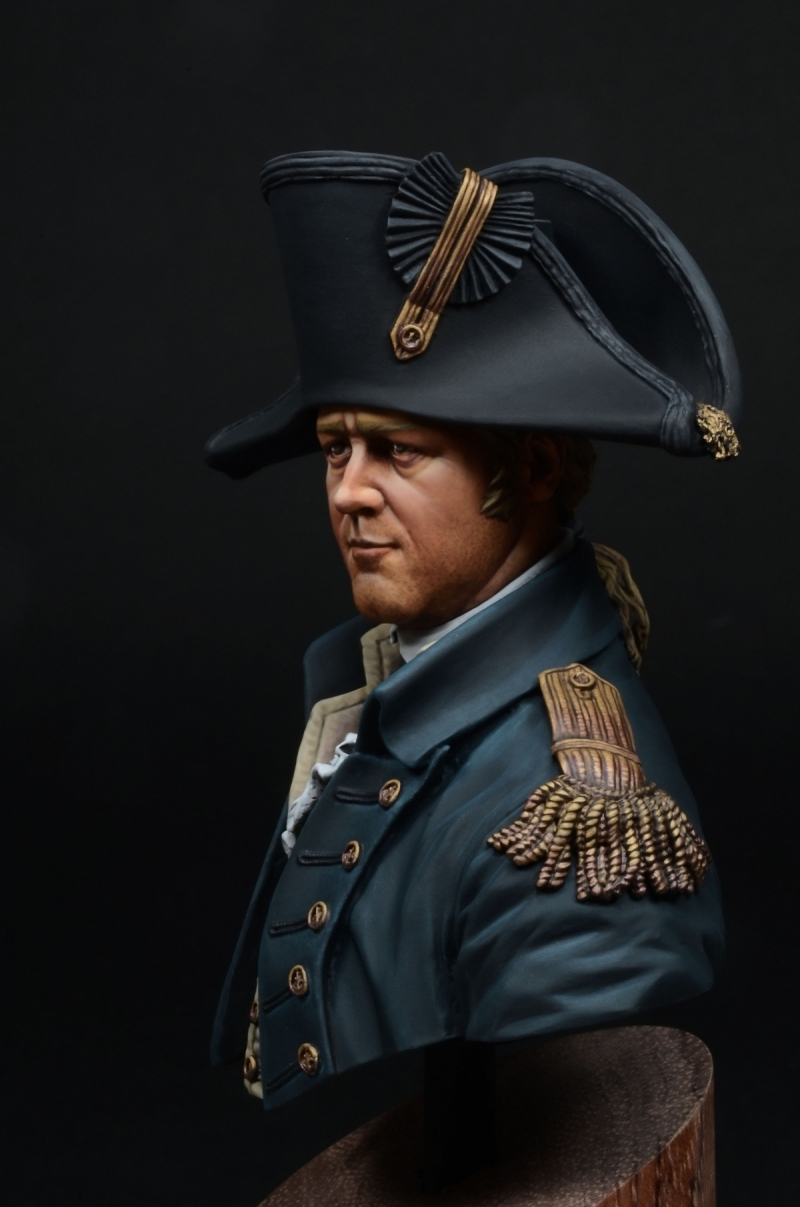 Royal Navy Captain 1806 Young Miniatures 1 10 By Yoon