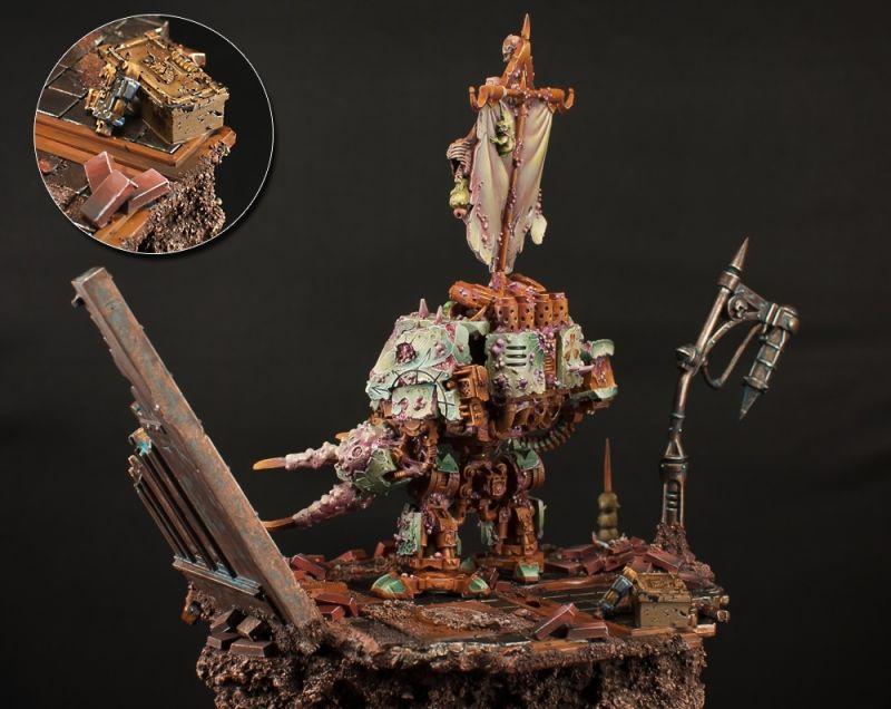 Nurgle Dreadnought Forge World