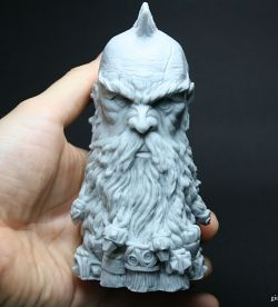 Dwarf Slayer bust