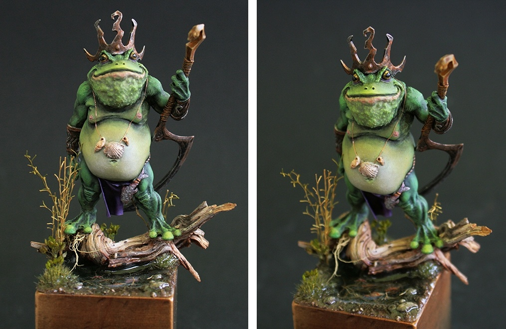 Toad King by Debbie Vo...