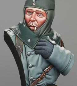 GRX Diffusion 1/12th scale German Wehrmacht Bust, Eastern Front.