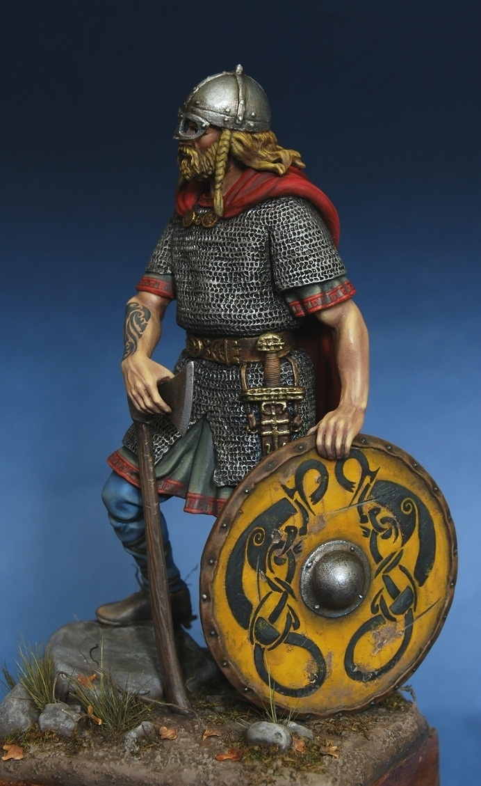 Viking Chief 10 Cent By Konstantinpinaev 183 Putty Amp Paint