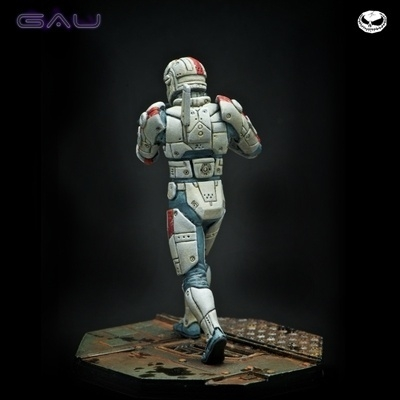 GAU - human TAC officer