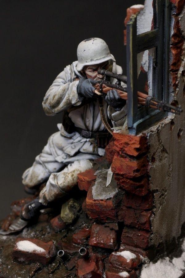 WW2 German Sniper by yong min kim · Putty&Paint