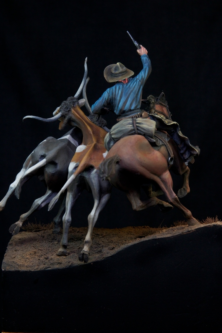 Cattle Stampede 1867 By Kaz Quot Histone Quot Tomori 183 Putty Amp Paint