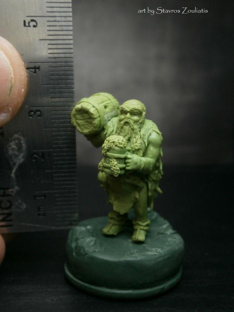 Drunken Dwarf By Stavros Zouliatis 183 Putty Amp Paint