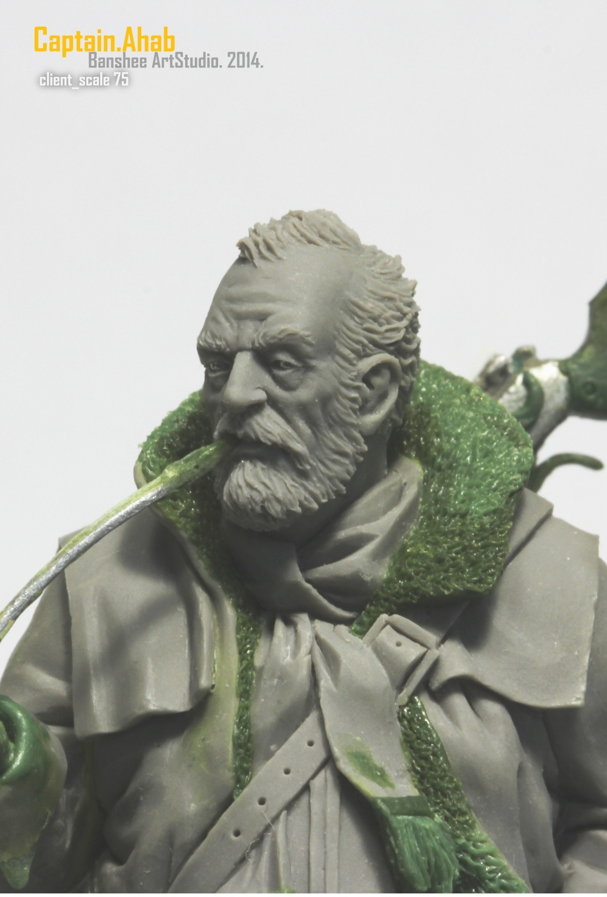 Captain Ahab Scale75 By Alfonso Giraldes Banshee 183 Putty Amp Paint
