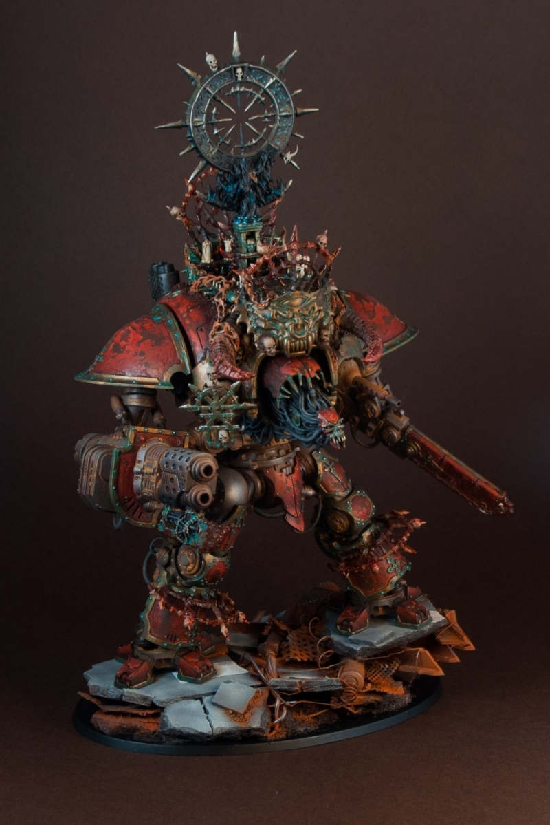 Imperial Knight Of Khorne By Paweł Makuch Quot Monstroys
