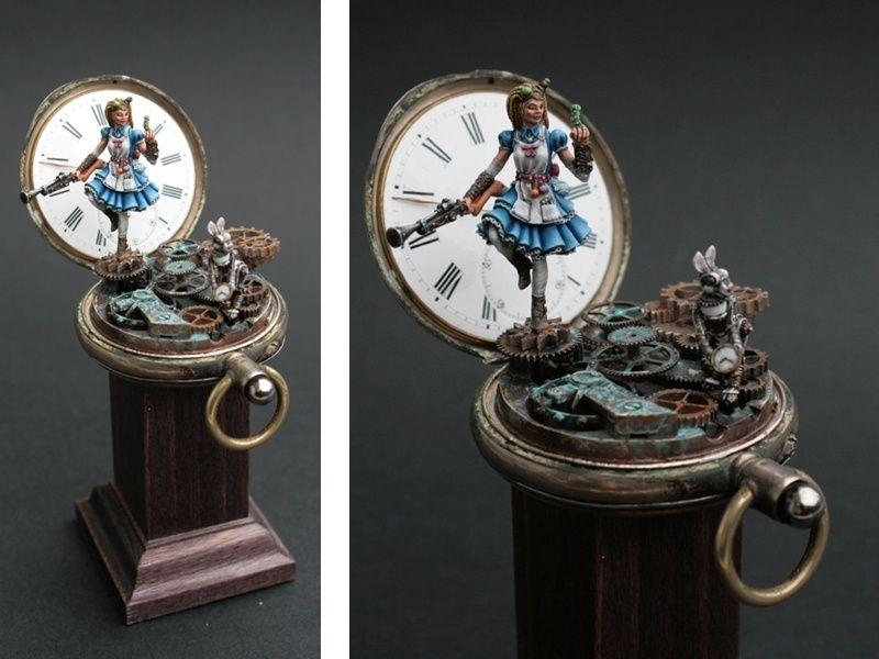 Clockwork Alice By Debbie Volquarts 183 Putty Amp Paint