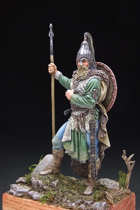 How Much Is A Paint Job >> Slavic Warrior, VII century A.D. by Viktor Osipenko · Putty&Paint