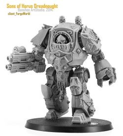 Sons of Horus contemptor dread