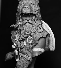Berserk, the viking age - Nutsplanet 1/10bust