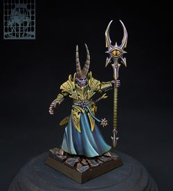 Sorcerer Lord in Chaos Sun Armor