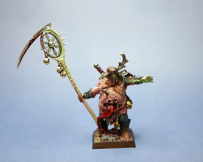 Lothar Bubonicus - Chaos Sorcerer Lord of Nurgle