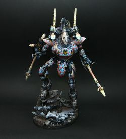 Cicero, the Eldar wraithknight