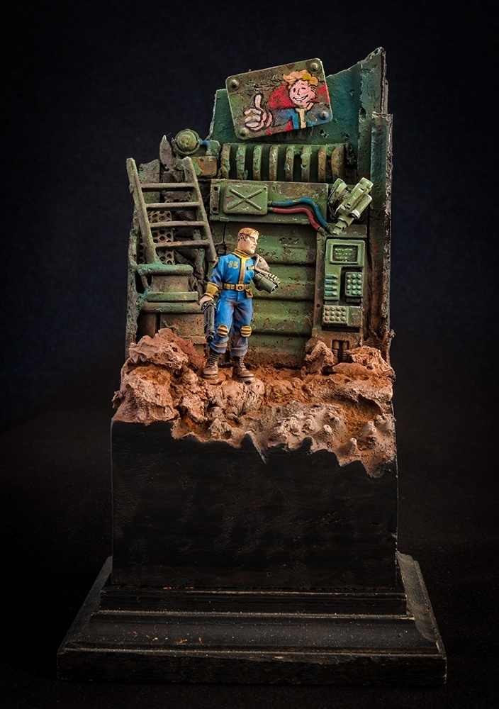 Vaultboy from Fallout