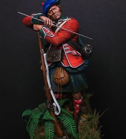 77th Montgomerys Highlander, Bushy Run 1763