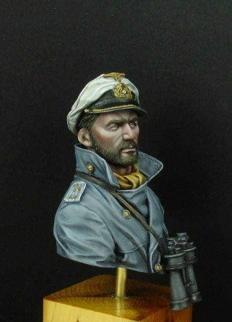 U-Boat Captain by brian snaddon · Putty&Paint