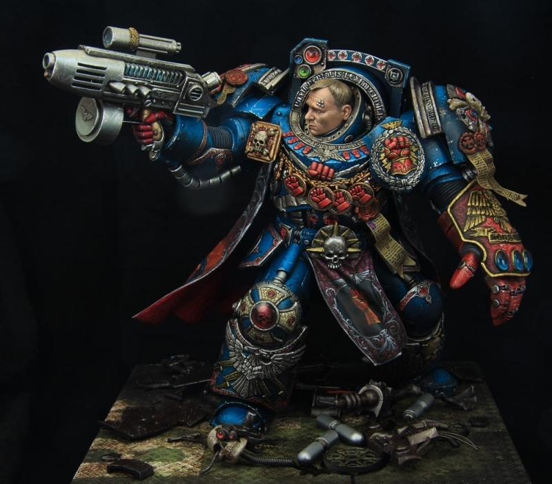 Crimson fists 1st company captain